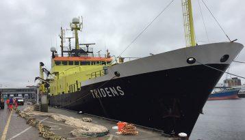 Reseach vessel the Tridens