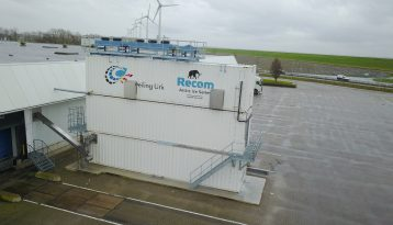 Containerized flake ice plant Urk